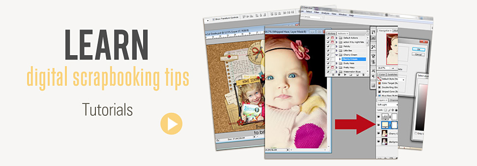 slide show #5 – Learn Scrapbooking Tips