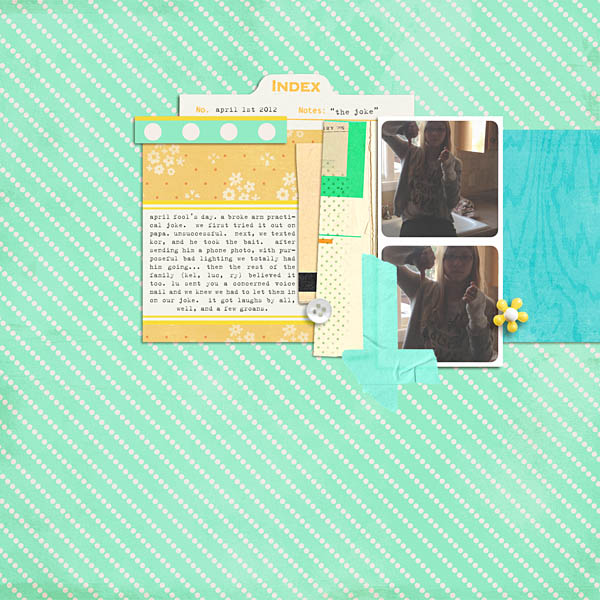 kristasahlin - digital scrapbook inspiration