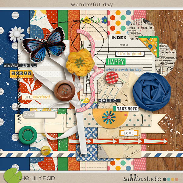 a wonderful day (kit) by sahlin studio