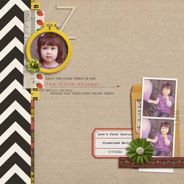 cathypascual - inspirational scrapbook layout