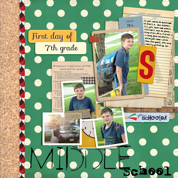 norton94 - inspirational scrapbook layout