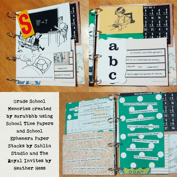 sarahbhb - inspirational scrapbook layout