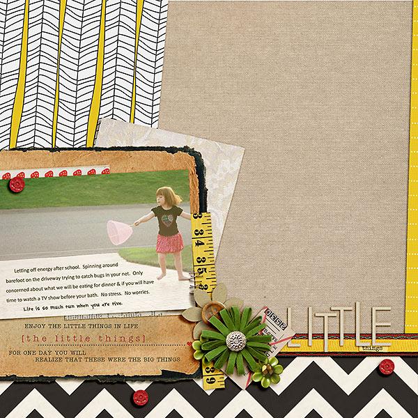 stampin_rachel - inspirational scrapbook layout