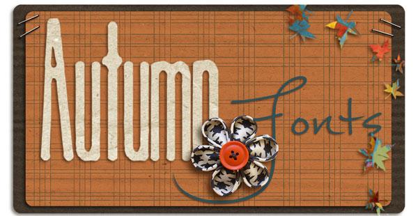 Autumn Font Title
