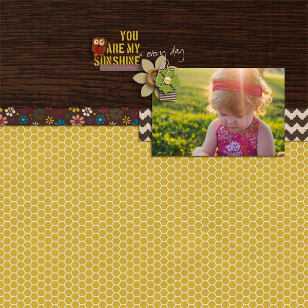 brenda smith - inspirational scrapbook layout