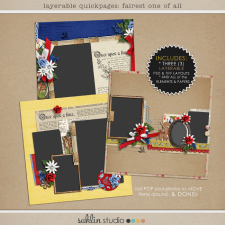 Layered Quickpages: Fairest One of All by Sahlin Studio