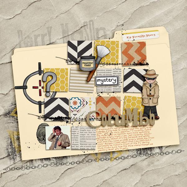 gracielou - inspirational scrapbook layout