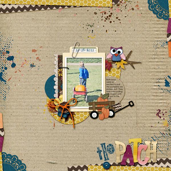 kim21673 - inspirational scrapbook layout