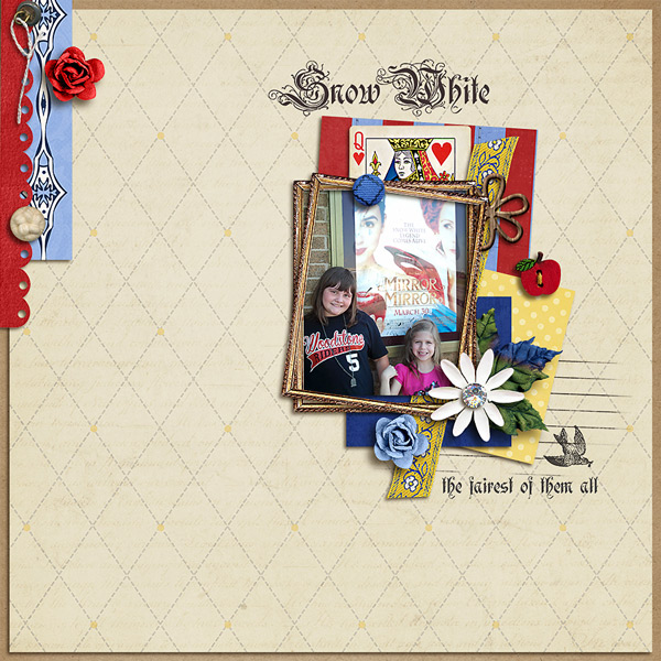 kimbytx - inspirational scrapbook layout