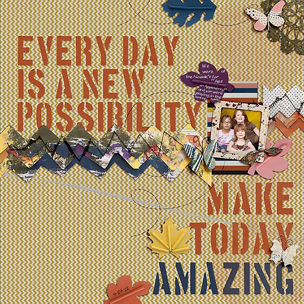 stampin_rachel - inspirational scrapbook layout