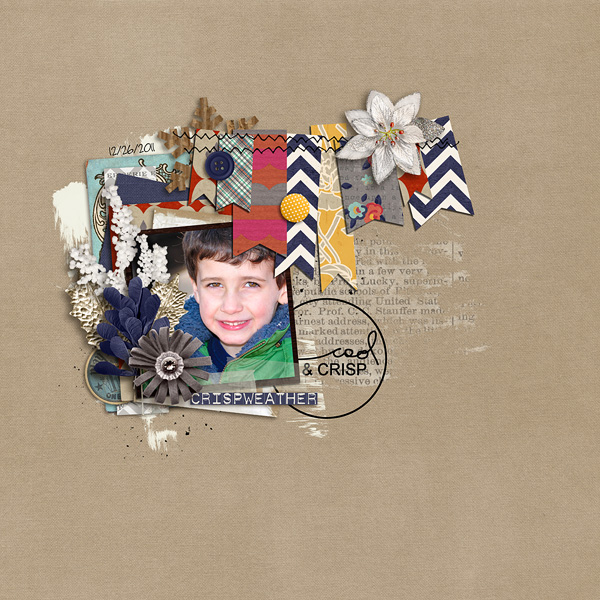 christineirion - inspirational scrapbook layout