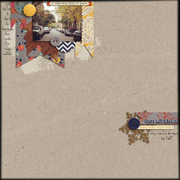 talktoheather - inspirational scrapbook layout