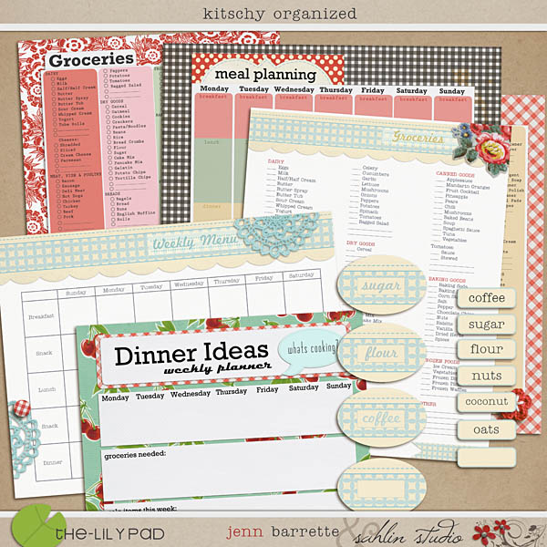 Kitschy Organized by Sahlin Studio and Jennifer Barrett