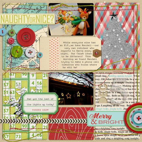 askings - inspirational scrapbook layout