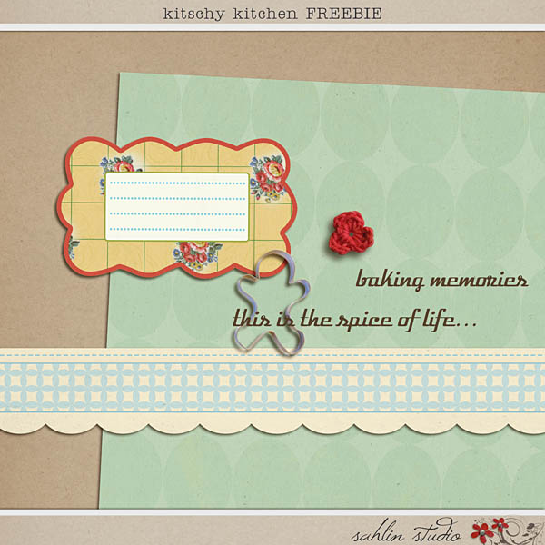 kitschy kitchen freebie by sahlin studio