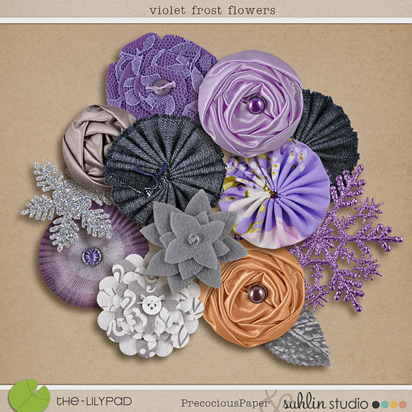 violet frost flowers by sahlin studio