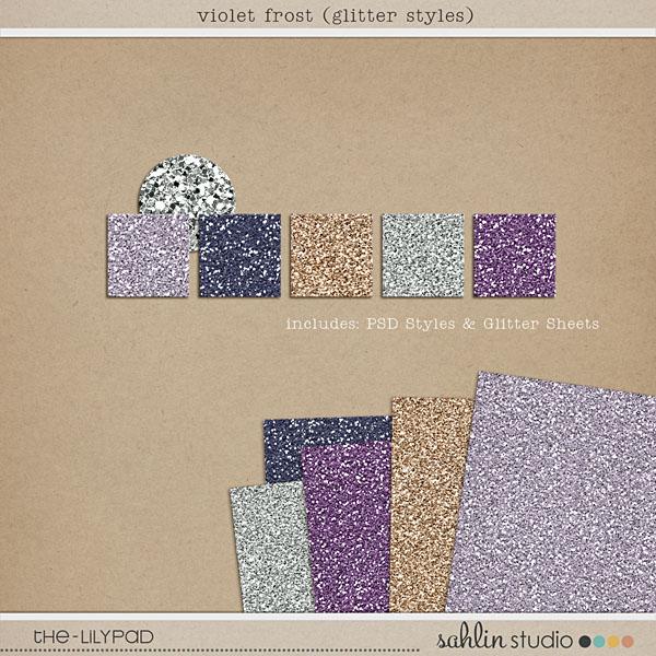 violet frost (glitter styles) by sahlin studio