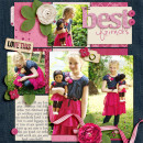 becca1976 - inspirational scrapbook layout