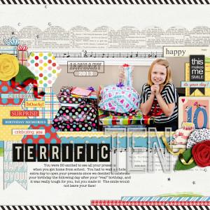 cindys73200 - inspirational scrapbook layout