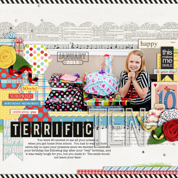cindys73200 - inspirational scrapbook layout