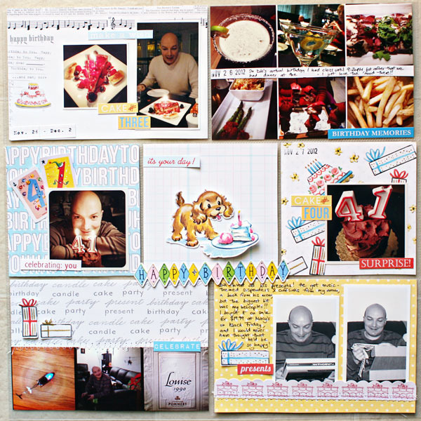 cristina - inspirational scrapbook layout