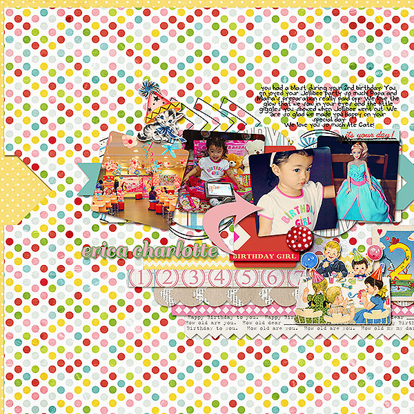 dianeskie - inspirational scrapbook layout