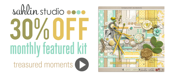Treasured Moments - January '13 Featured Kit