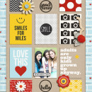 juhh - inspirational scrapbook layout