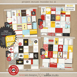 Project Mouse: BUNDLE No. 2 Leading Up to the Magic by sahlin studio