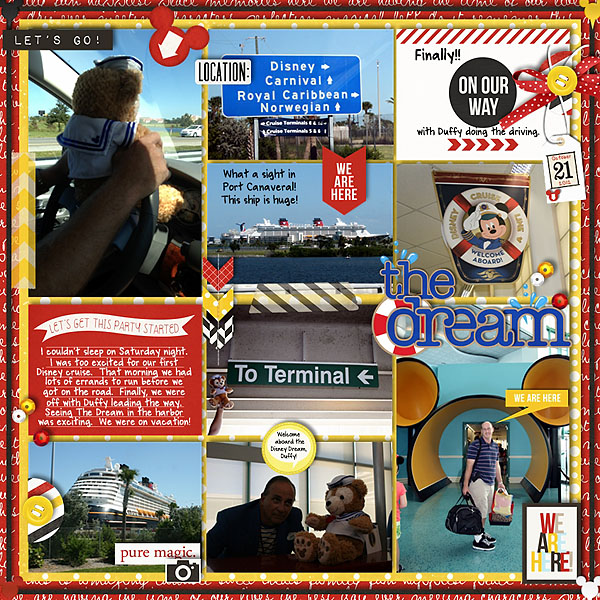 MelindaS - inspirational scrapbook layout
