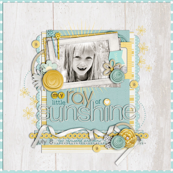 digital scrapbook layout inspiration by cindys732003