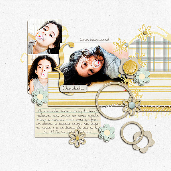 digital scrapbook layout inspiration by mimonteiro