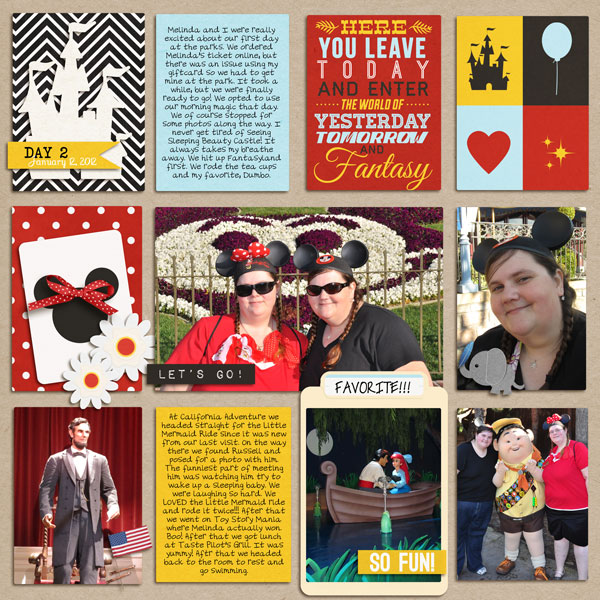 yzerbear19 - inspirational scrapbook layout