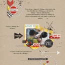 AnaPaula - inspirational scrapbook layout