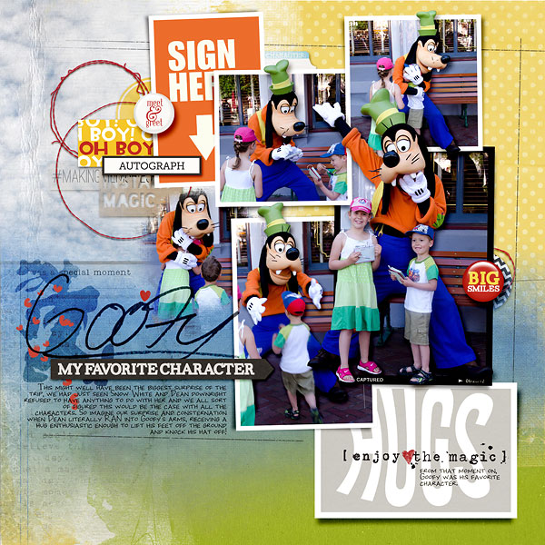 amberr - inspirational scrapbook layout