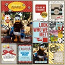lingovise - inspirational scrapbook layout