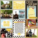 """Disney Digital Project Life page created by jan featuring """"Project Mouse: Bundle No. 3 - Character Moments"""" by Sahlin Studio & Britt-ish Designs"""