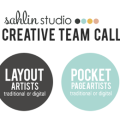 Sahlin Studio 2013 Creative Team Call