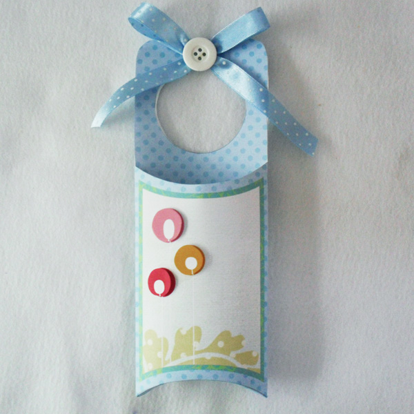 Digital and Hybrid Scrapbook project featuring Printables Spring Door Hangers by Sahlin Studio and Krisi's Kreations - 3