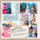 Disney Project Life page created by amberr featuring Project Mouse Princess by Sahlin Studio & Britt-ish Designs - 2a