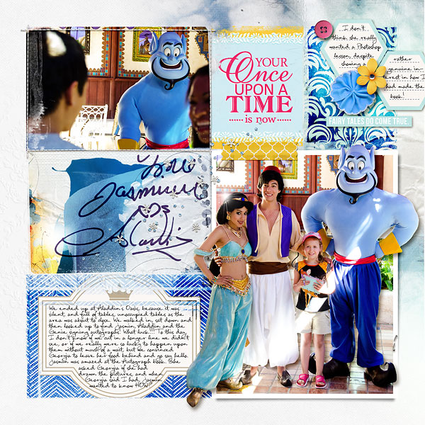 Disney Project Life page created by amberr featuring Project Mouse Princess by Sahlin Studio & Britt-ish Designs - 3b