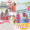 Disney Project Life page created by becca1976 featuring Project Mouse Princess by Sahlin Studio & Britt-ish Designs - 2