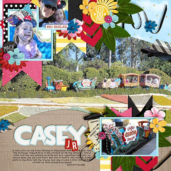 Disney Digital page created by christie featuring Project Mouse  by Sahlin Studio & Britt-ish Designs