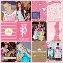 Disney Project Life page created by neeceebee featuring Project Mouse Princess by Sahlin Studio & Britt-ish Designs - 1