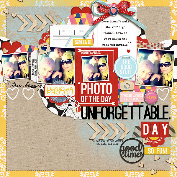 Disney digital page created by scrappydonna featuring Project Mouse by Sahlin Studio & Britt-ish Designs