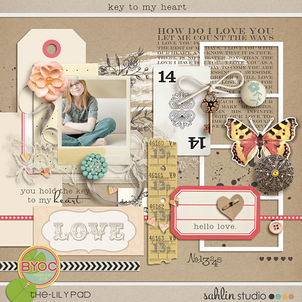 key to my heart (elements) by sahlin studio
