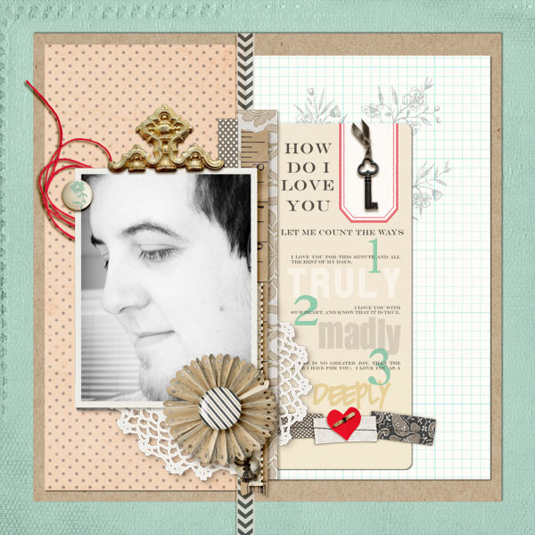 key to my heart by sahlin studio layout by: askings