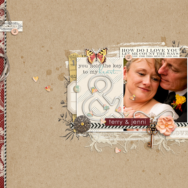 key to my heart by sahlin studio layout by: christineirion