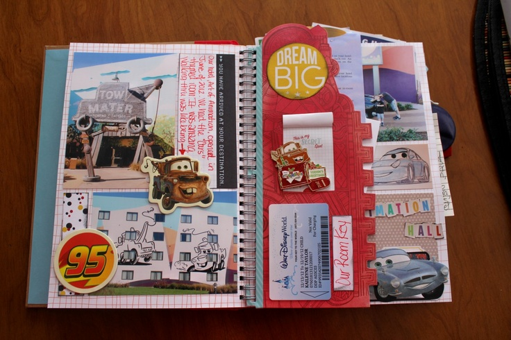 Disney Smash Book by Kathleen Taylor featuring Project Mouse by Britt-ish Designs and Sahlin Studio - Hotel