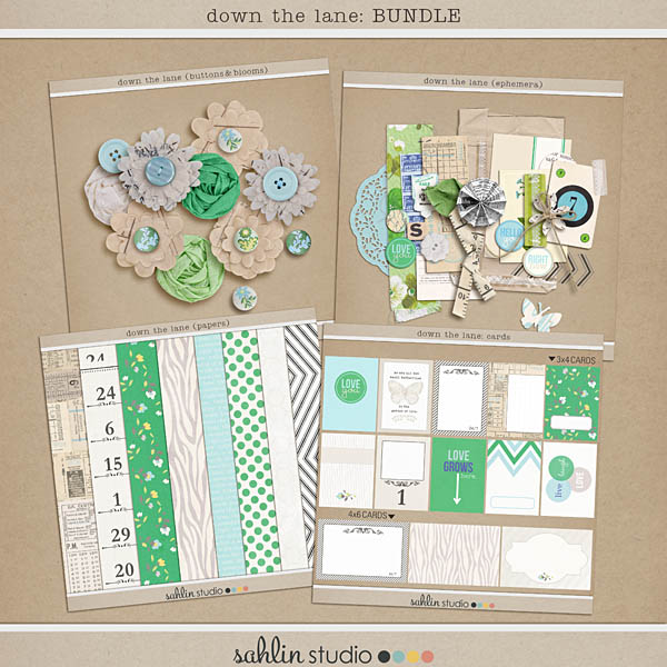 down the lane: BUNDLE by sahlin studiodown the lane: BUNDLE by sahlin studio